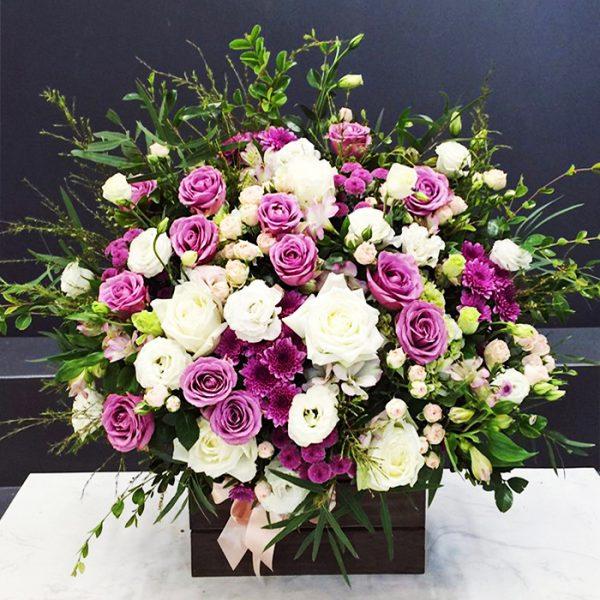 hoa sinh nhat mau tim y nghia