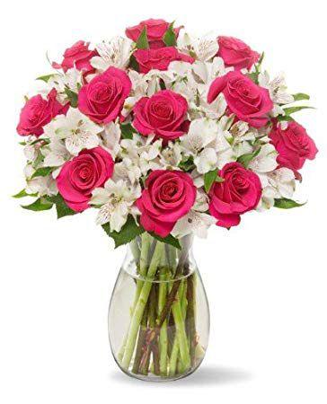 lọ hoa hồng đẹp