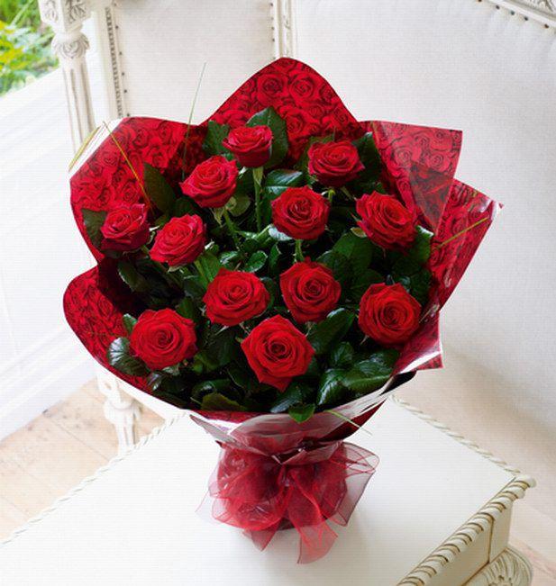 Hoa hồng đỏ tặng sinh nhật người yêu