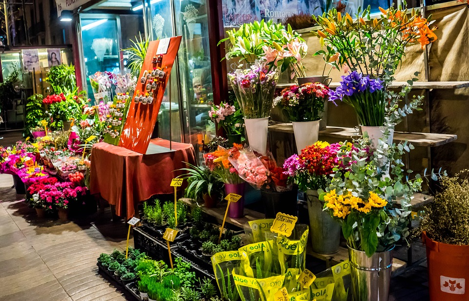 Shop hoa tuoi quan 7